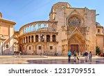 valencia  spain   october 6 ... | Shutterstock . vector #1231709551