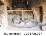 old mill at belisirma village...   Shutterstock . vector #1231726117