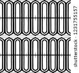 black and white minimal... | Shutterstock .eps vector #1231755157