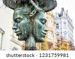 allegorical sculpture and... | Shutterstock . vector #1231759981