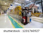 car manufacturing plant....   Shutterstock . vector #1231760527