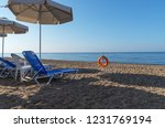 view of the sea resort with... | Shutterstock . vector #1231769194