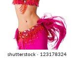 Torso Of A Female Belly Dancer...
