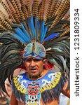 october 30  2010. an aztec... | Shutterstock . vector #1231809334