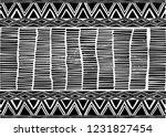 african print fabric  ethnic... | Shutterstock .eps vector #1231827454