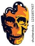 a 3 color vector illustration...   Shutterstock .eps vector #1231857457