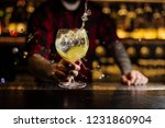 Bartender Making Splash Of A...