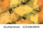 abstract polygonal background... | Shutterstock .eps vector #1231863844