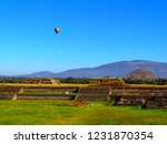 mexico  pre hispanic city of... | Shutterstock . vector #1231870354