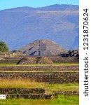 mexico  pre hispanic city of... | Shutterstock . vector #1231870624