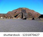 mexico  pre hispanic city of... | Shutterstock . vector #1231870627