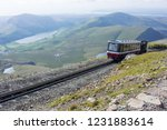 snowdonia mountain railway  | Shutterstock . vector #1231883614