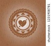heart with arrow icon inside... | Shutterstock .eps vector #1231908781