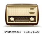 Old Radio. Realistic...