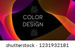 futurist abstract vector... | Shutterstock .eps vector #1231932181