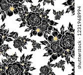 abstract seamless pattern with... | Shutterstock .eps vector #1231968994