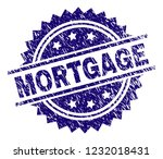 mortgage stamp seal watermark... | Shutterstock .eps vector #1232018431
