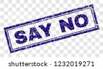 say no stamp seal print with...   Shutterstock .eps vector #1232019271