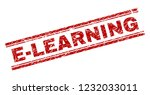 e learning seal stamp with... | Shutterstock .eps vector #1232033011
