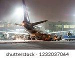 ground handling passenger... | Shutterstock . vector #1232037064