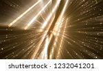 abstract gold background.... | Shutterstock . vector #1232041201