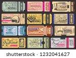 baseball championship retro... | Shutterstock .eps vector #1232041627