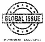 global issue stamp seal... | Shutterstock .eps vector #1232043487