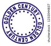 golden century stamp seal... | Shutterstock .eps vector #1232044837