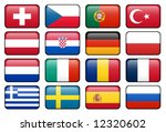 european football championship... | Shutterstock . vector #12320602