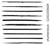 set of 10 pieces grunge edges... | Shutterstock .eps vector #1232103604