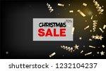 sale magic glitter confetti ... | Shutterstock .eps vector #1232104237