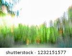 long exposure or slow shutter... | Shutterstock . vector #1232151577