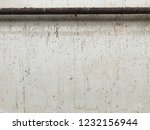 dirty wall with grunge pipe... | Shutterstock . vector #1232156944