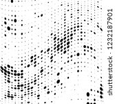 the texture of halftone black... | Shutterstock .eps vector #1232187901