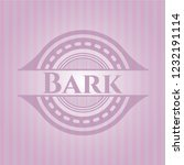 bark badge with pink background | Shutterstock .eps vector #1232191114
