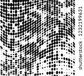 the texture of halftone black... | Shutterstock .eps vector #1232199631