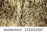 close up of wool  karakul  fur... | Shutterstock . vector #1232221567