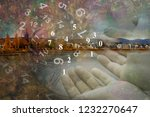 magic world of numerology | Shutterstock . vector #1232270647