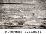 old grungy wooden planks texture | Shutterstock . vector #123228151