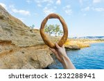 the aegean sea view  saronic...   Shutterstock . vector #1232288941