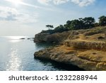 the aegean sea view  saronic...   Shutterstock . vector #1232288944