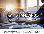 standards  quality control ... | Shutterstock . vector #1232302684