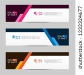 banner background. modern... | Shutterstock .eps vector #1232324677
