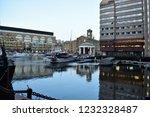 london  uk   march 2018  yachts ... | Shutterstock . vector #1232328487