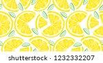 Lemon Seamless Pattern....
