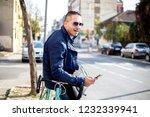 young business man allways work   Shutterstock . vector #1232339941