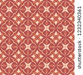 red royal pattern. the seamless ... | Shutterstock .eps vector #1232340361