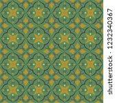 green royal pattern. the... | Shutterstock .eps vector #1232340367