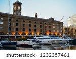 london  uk   march 2018  yachts ... | Shutterstock . vector #1232357461