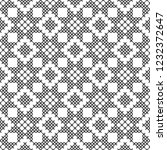 cross stitch  seamless... | Shutterstock .eps vector #1232372647